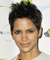 Halle Berry - Short Straight Hairstyle